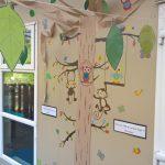 Outside Tree Display